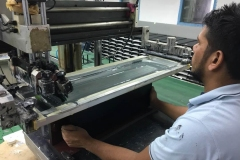 Printing-in-Silk-Screening