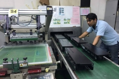 Silk-Screening-process