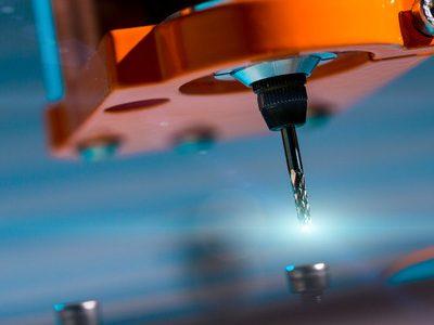 37968287 - diamond milling cutter on cnc machine